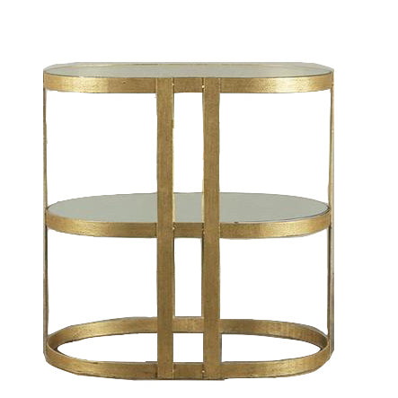 Agnes Oval Console Table
