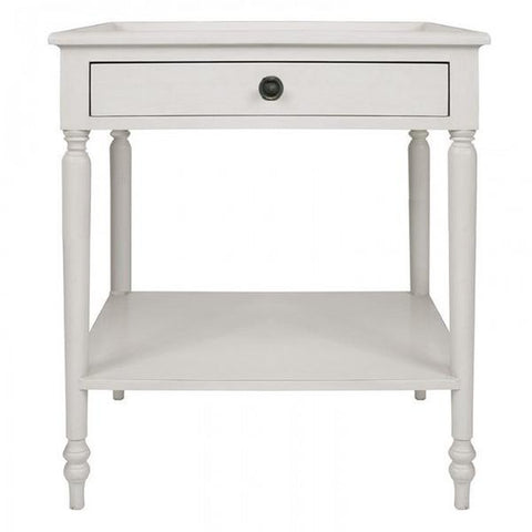 Monash Bedside Antique White