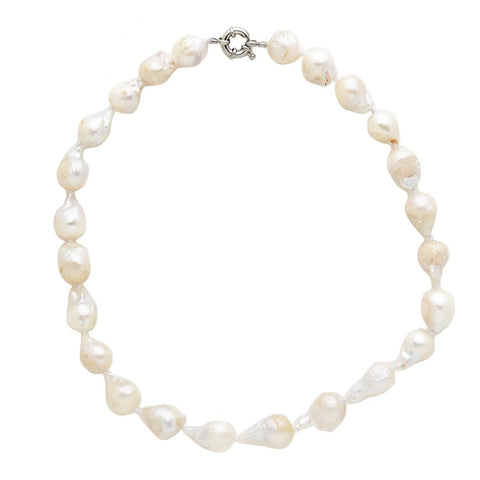 Keshi Pearl Strand Necklace