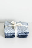 Lavette Duck Indigo Washers - Set of Three