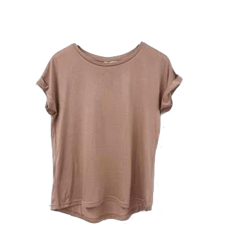 Roll Sleeve Tee Copper