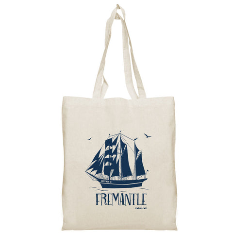 Fremantle Ship Tote Bag