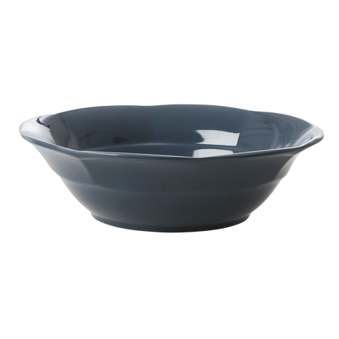 Melamine Soup Bowl Dark Grey