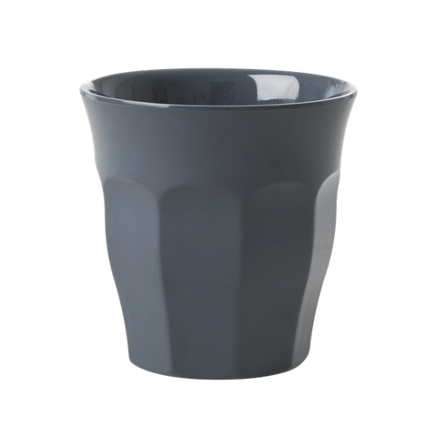 Melamine Cup in Dark Grey - Medium
