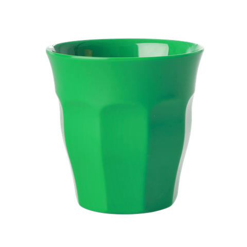 Solid Coloured Medium Melamine Cup in Forest Green