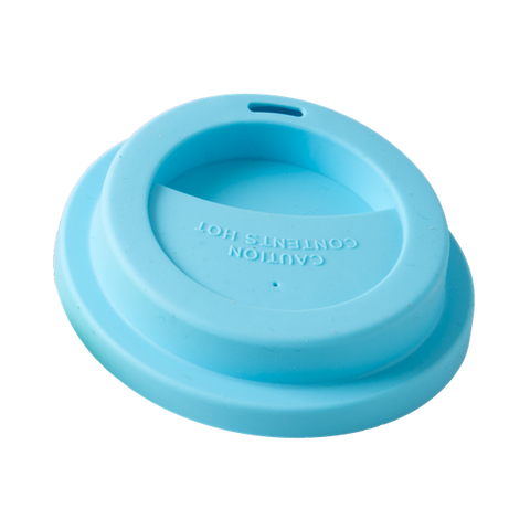 Silicone Lid for Medium or Tall Cup Blue