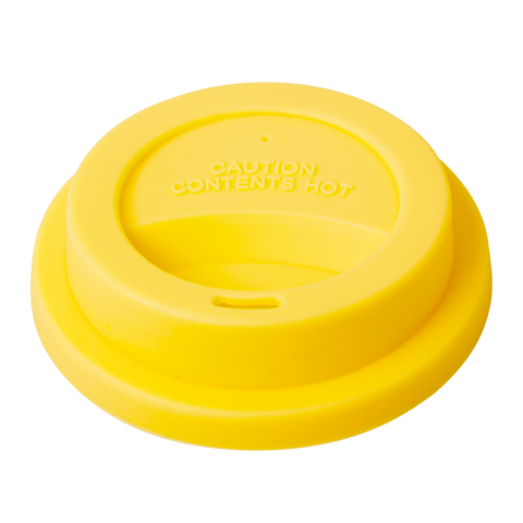 Silicone Lid for Our Melamine Tall Cup Yellow