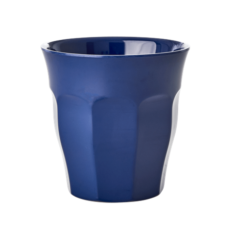Melamine Cup in Navy Blue - Medium