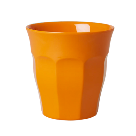 Solid Coloured Medium Melamine Cup Orange
