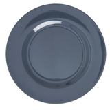 Melamine Round Dinner Plate in Dark Grey
