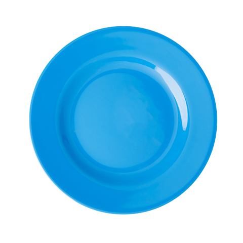Melamine Round Side Plate in Ocean Blue