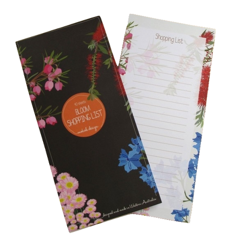 Midnight Bloom Shopping Pad