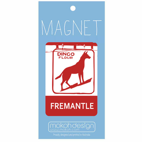 Fremantle Dingo Dog Magnet
