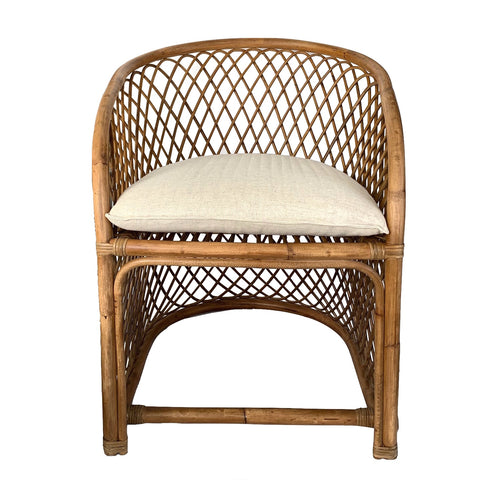 Nova Rattan Armchair Natural