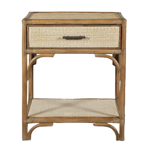 Riviera Rattan Side Table