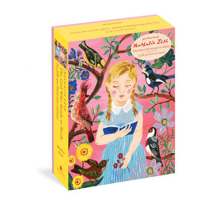 The Girl Who Reads to Birds 500-Piece Jigsaw Puzzle by Nathalie Lete