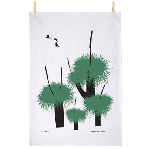 Grass Tree Tea Towel