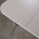 Caledonia Zinc Dining Table
