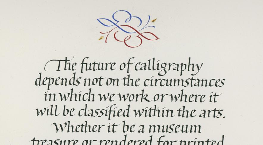 The Future of Calligraphy