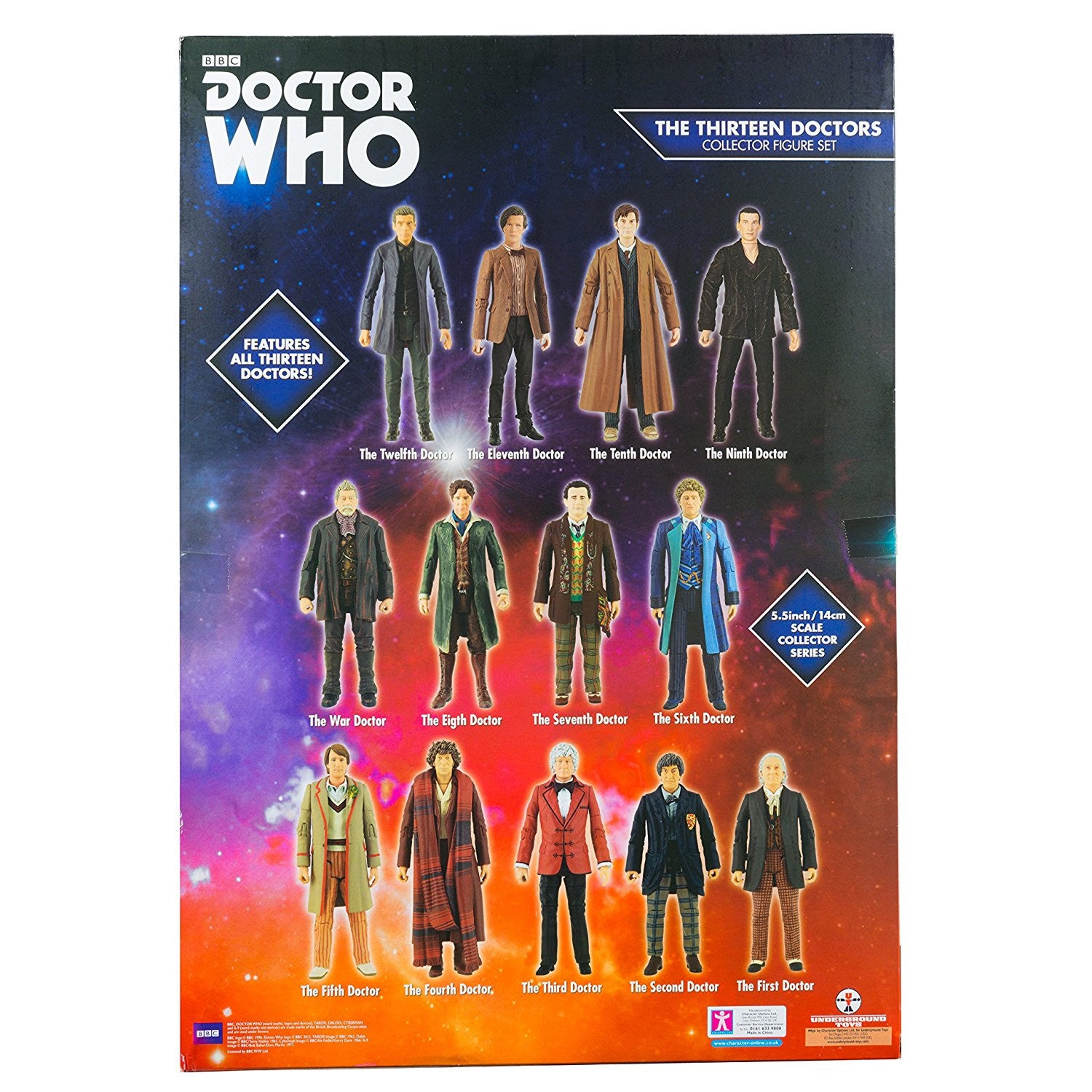Doctor Who 13 Doctor 5 5 Quot Figure Action Figure Set