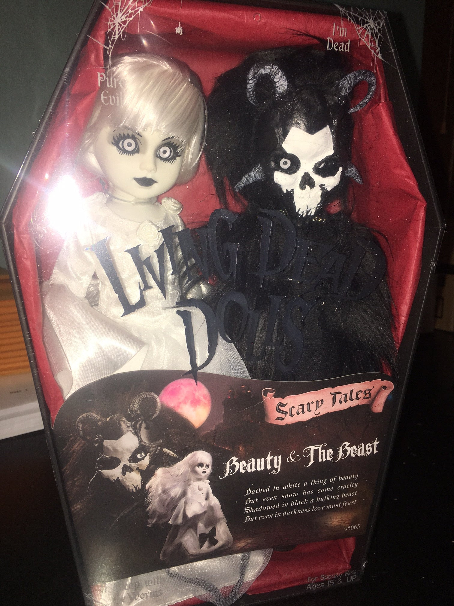 2017 Living Dead Dolls Beauty And The Beast Toot S Toys