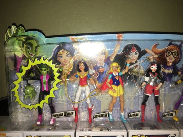 Dc Super Hero Girls Dolls Action Collection With Beast Boy