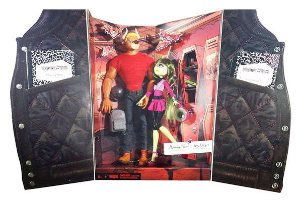 2014 Sdcc Exclusive Monster High Manny Amp Iris Doll Set