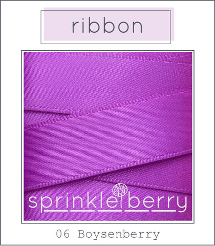 DF Satin Ribbon - Boysenberry