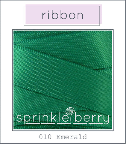 DF Satin Ribbon - Emerald