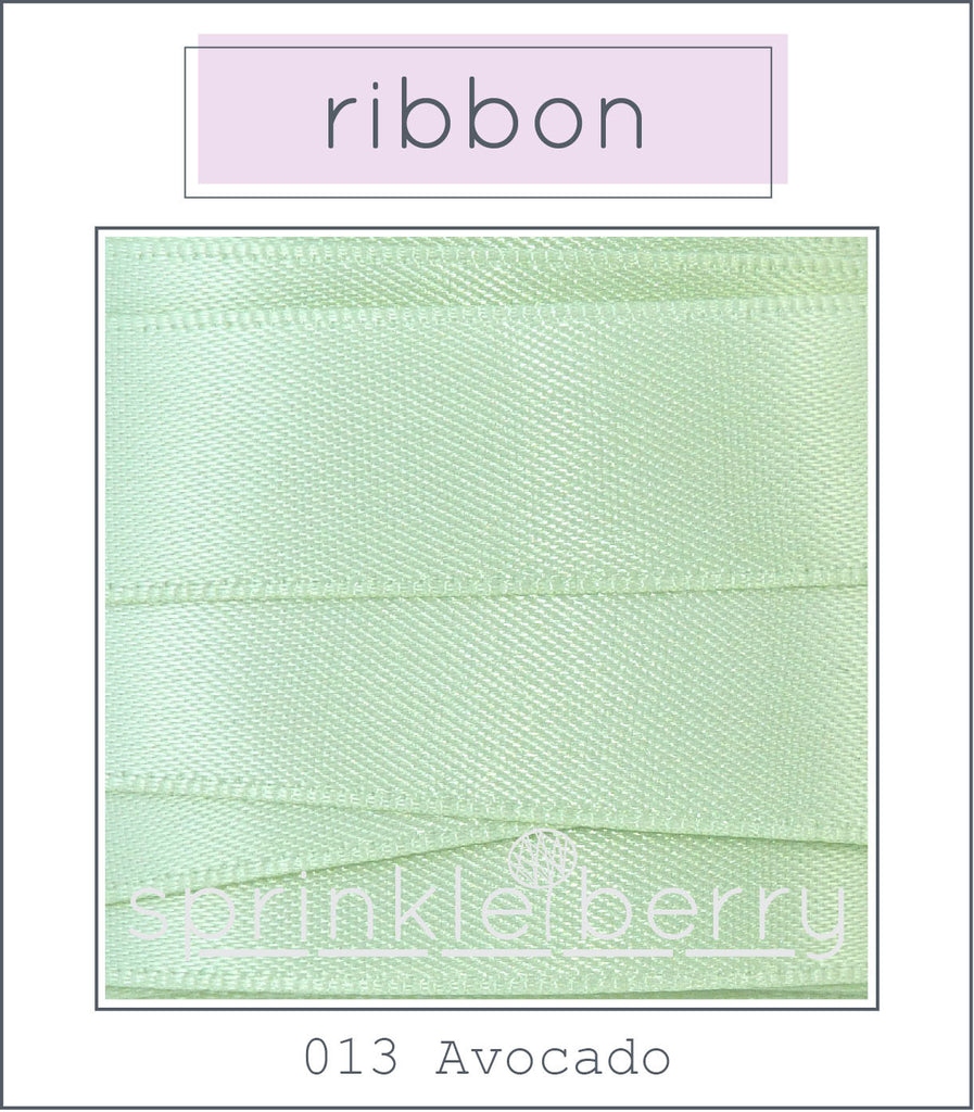 DF Satin Ribbon - Avocado
