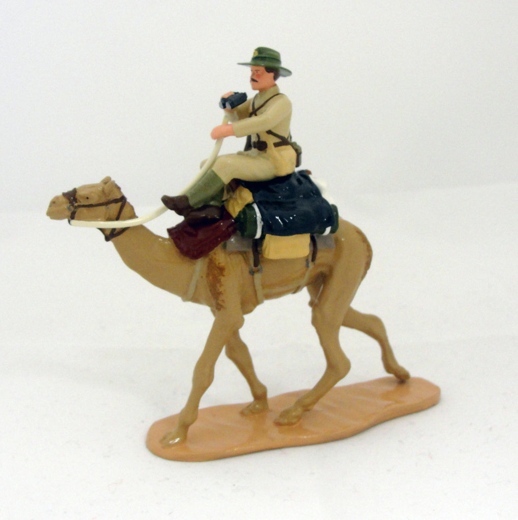 NZ Officer on Camel