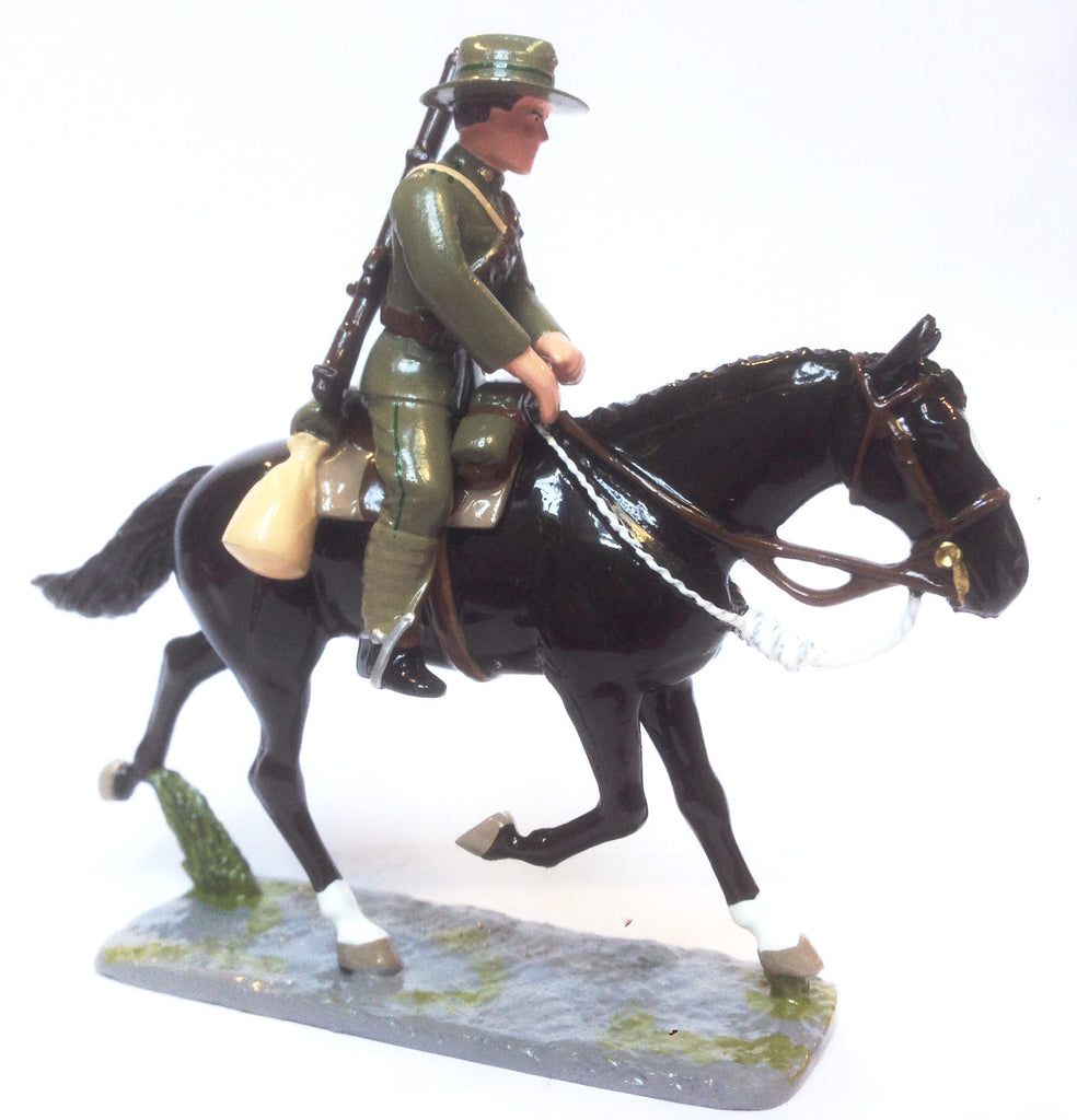 NZMR Figurine Mounted on Horse