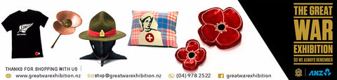 $50.00 Great War Exhibition Gift Voucher