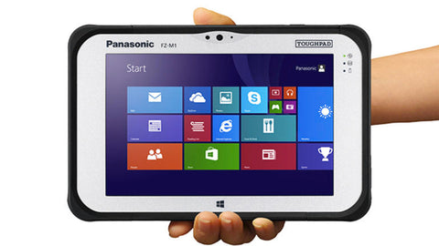 Cheap Panasonic Toughpad FZ-M1 tablet now available from ITZOO - New and Boxed!