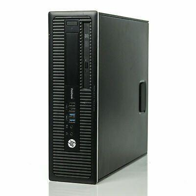 Copy of HP 600 G2 SFF Computer 8GB 500GB 3.2Ghz Win10 PC BASE UNITS hp pc