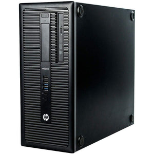 Refurbished HP Elitedesk 800 G1 SFF PC 3.5GHz 8GB 500GB Win 10