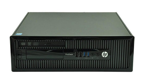 HP Prodesk 400 G3 SFF PC i3 6100 3.7Ghz Windows 10 PC BASE UNITS itzoo