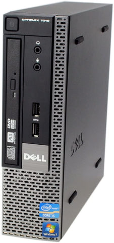 Refurbished Dell OptiPlex 7010 USFF i3 3.0Ghz 320GB 4GB PC BASE UNITS Dell