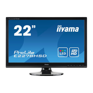 "Refurbished Ilyama Prolite E2278HSD 22""  Monitor"