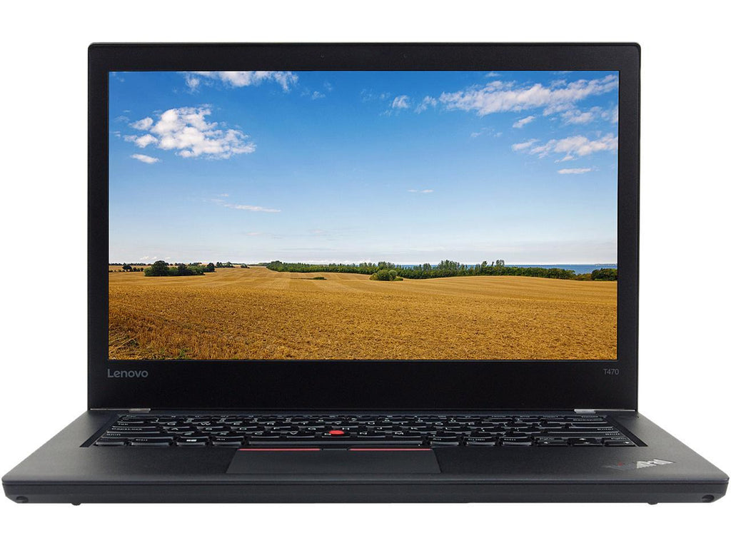 Refurbished Lenovo T470 Laptop i5-6300U 2.4Ghz 8GB 256GB AZERTY Laptops Lenovo Laptop