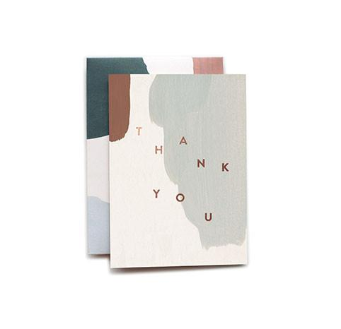 Charlie Thank You Single Greeting Card