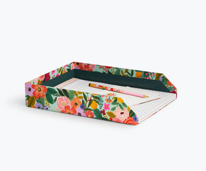 Garden Party Desk Letter Tray