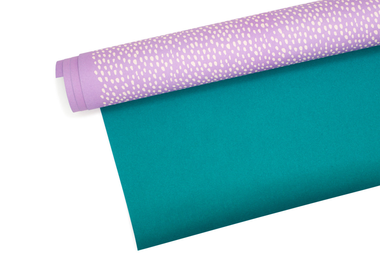 Purple Dots Wrapping Sheets
