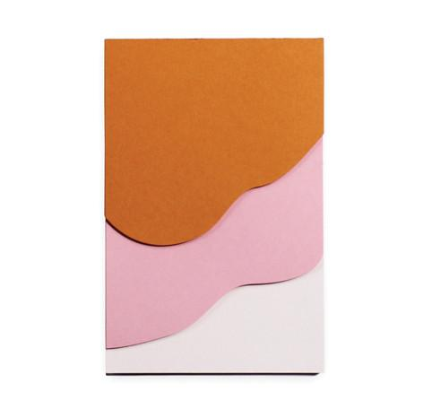 Pink Tapestry Notepad