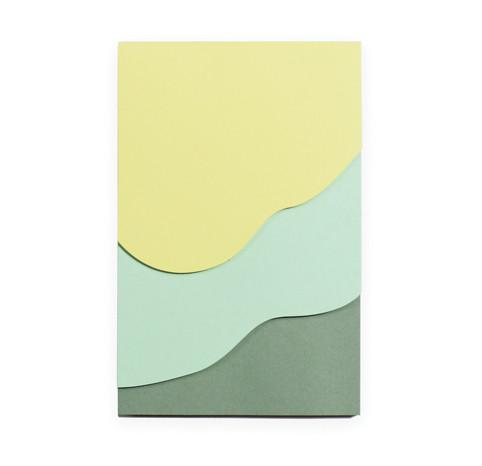 Green Tapestry Notepad