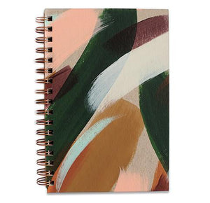 Cedar Hand Painted Notebook