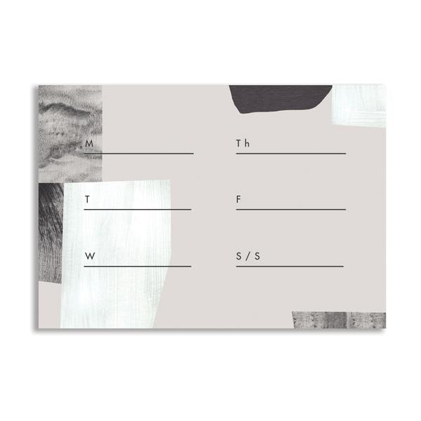 Fog Weekly Desk Pad