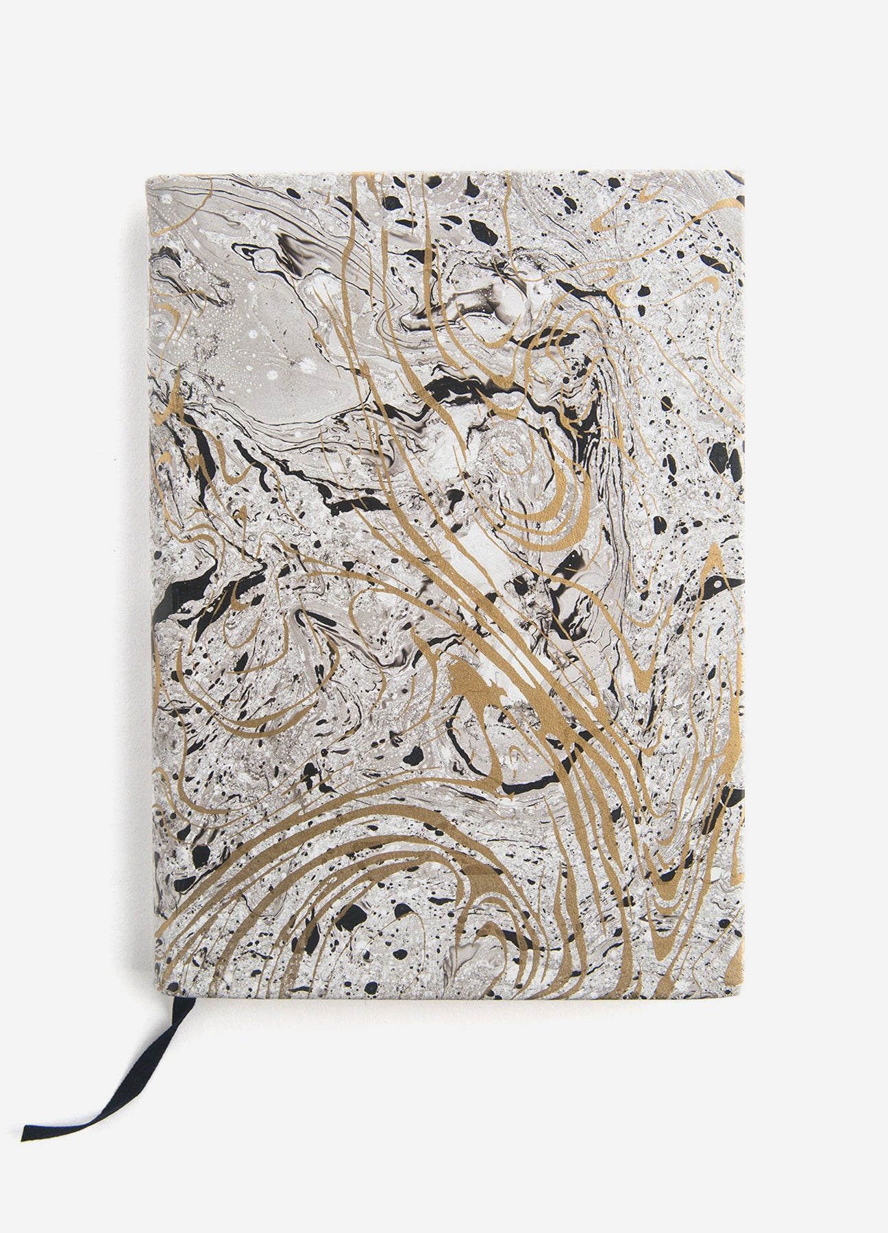 Hand Dipped Marble Medium Journal