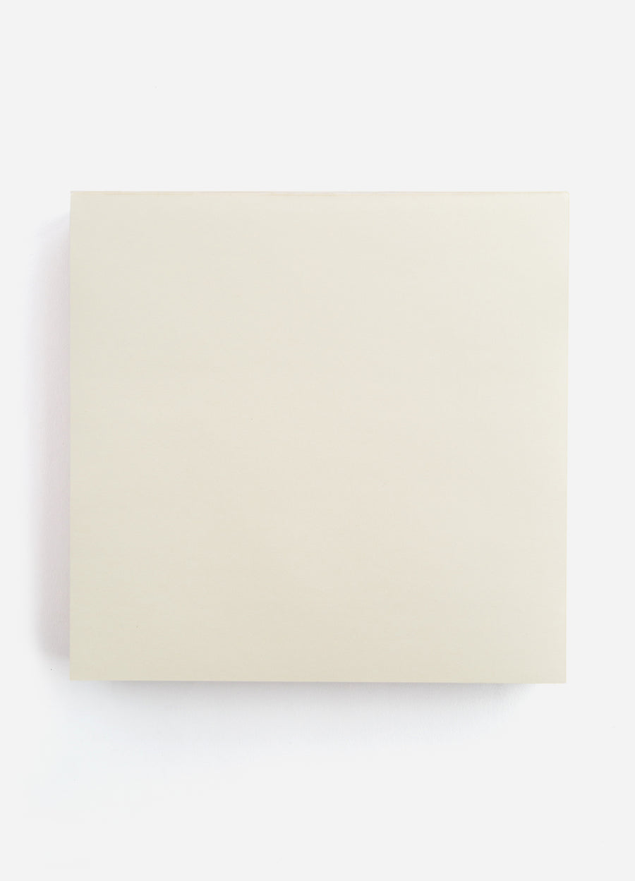 Cream Large Sketch Notepad