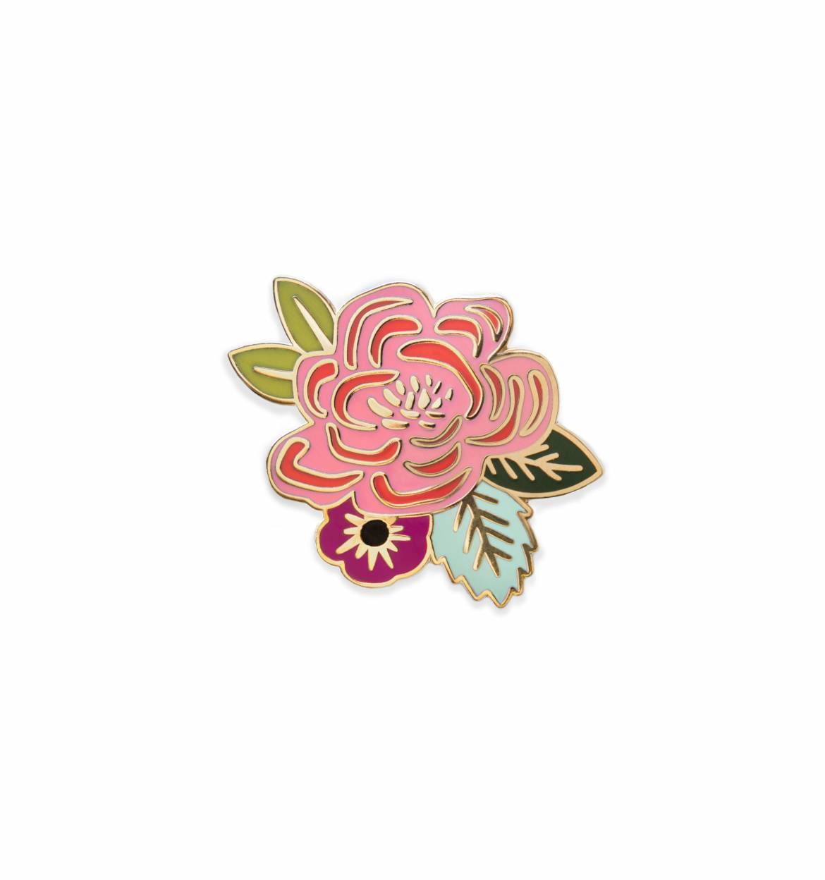 Juliet Rose Enamel Pin